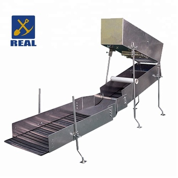 China suppliers real brand sluice box for sale