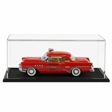 Acrylic 1:18 Scale Model Car Display Case Car Model Display Stand