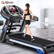 2017 Egymcom New style running machine with massage belt model manual speed fit fitness treadmill machine