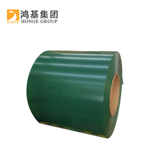Honge Prepainted steel coil / PPGI / PPGL color coated galvanized corrugated metal roofing sheet in coil