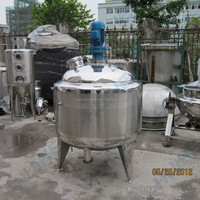 Stainless Steel Chemicl Reactor for Making PVAC adhesive/PVA/PSA adhesive
