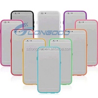 4.7 inch Mobile Phone silicone bumper case for apple iphone 6