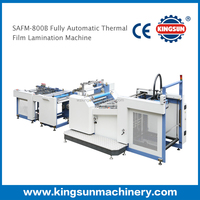 SAFM-800B double side thermal film fully automatic laminating machine