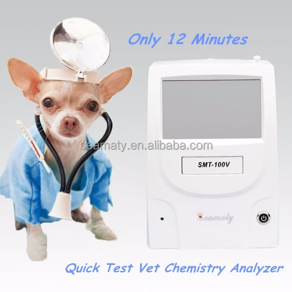 Simple operation glucose point of care biochemistry analyzer animal blood test