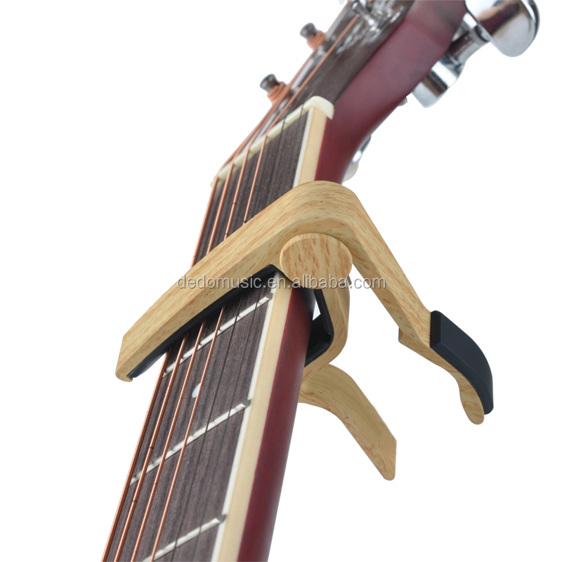 New In Market wood Guitar Capo for guitar OEM free