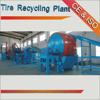 hot selling scrap tyres recycling plant