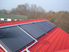 The fine quality parts flat plate solar collector