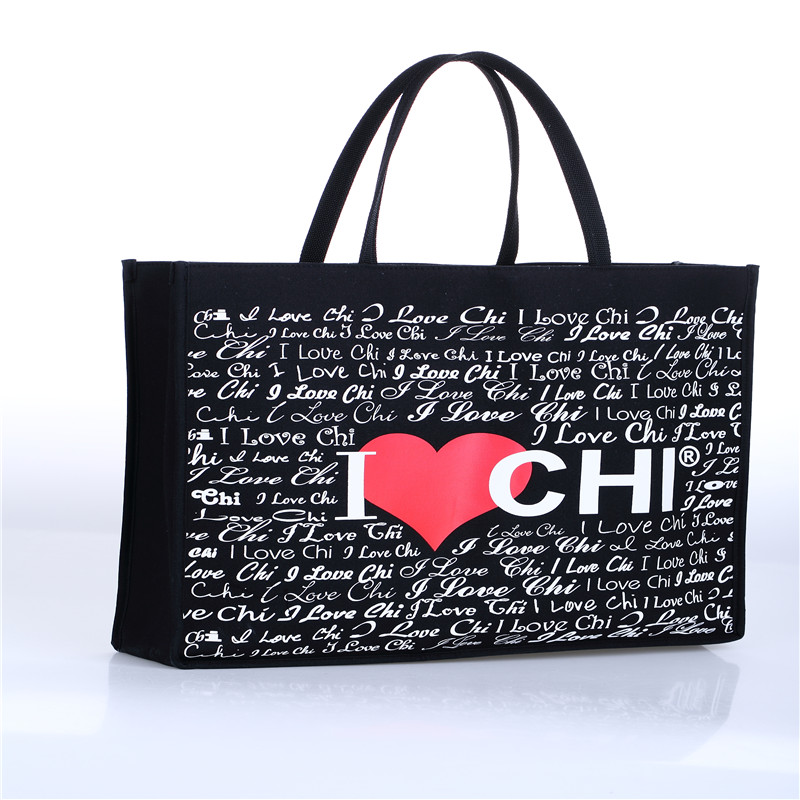 hottest saling high quality full color print custom folding canvas tote bag