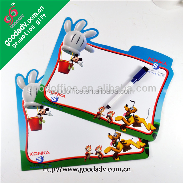 Wholesale practical home decoration refrigerator magnet memo board