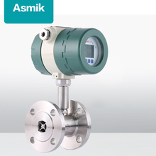 Asmik hot sale high quality petrol flow sensor turbine water flow meter for liquid