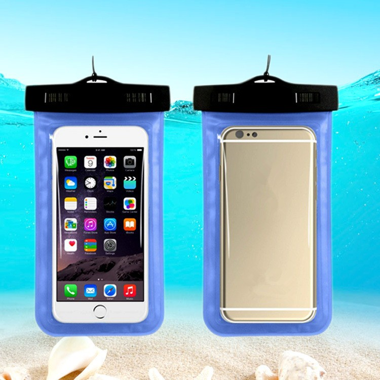 Retail Universal new waterproof Case mobile phone pouch for iphone 7 pvc Dry Bag pouch for CellPhone