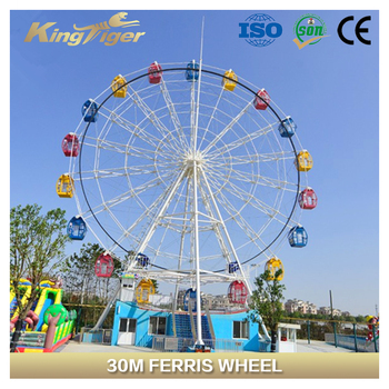 many size big amusement park machine Ferris Wheel for sale