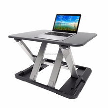 JEO LD04 Metal laptop standing office foldable sit to stand height adjustable desk