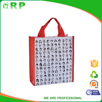 OEM factory custom wholesale reusable recycle laminated pp woven gift shopping bag