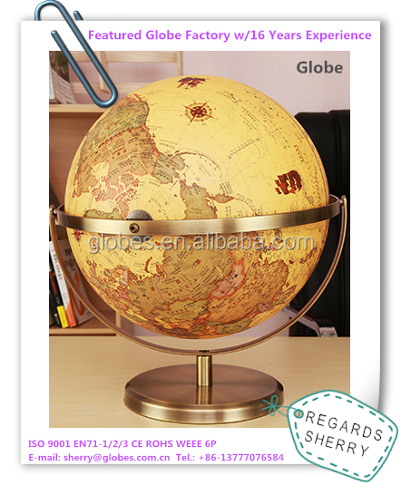Large Gifts and Home Decoration World Globe