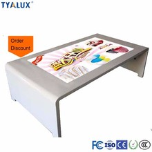 Multimedia Touchscreen Information Table Kiosk , Multi Touch Screen Conference Table