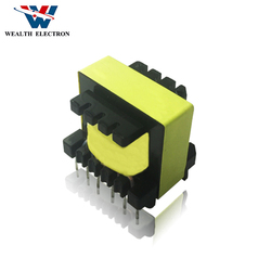 12V 24V EE26 60w customization vertical type high frequency transformer manufacturer