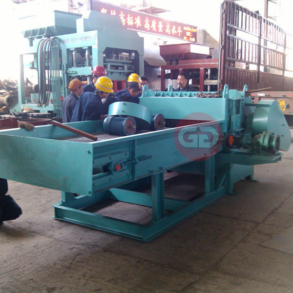 Efficient pallet crusher good performance nailed veneer crusher