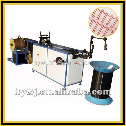 notebook binding, twin ring wire making machine , wire o forming machine,double wire forming machine