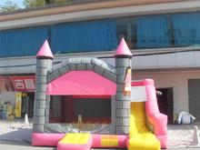 Plastic kids bouncy castle inflatable castle jumpers event sports