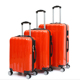 travelling bags luggage PC ABS carry on luggage set making material luggage suitcase bags
