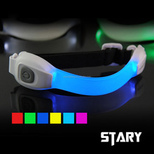 STARY novelty waterproof ipx8 rate ultra safty led armband for running cycling jogging concert sport