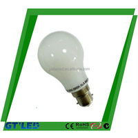 Outdoor bulb car 360deg led bulb casing glass cover 2200k led bulb light 6w