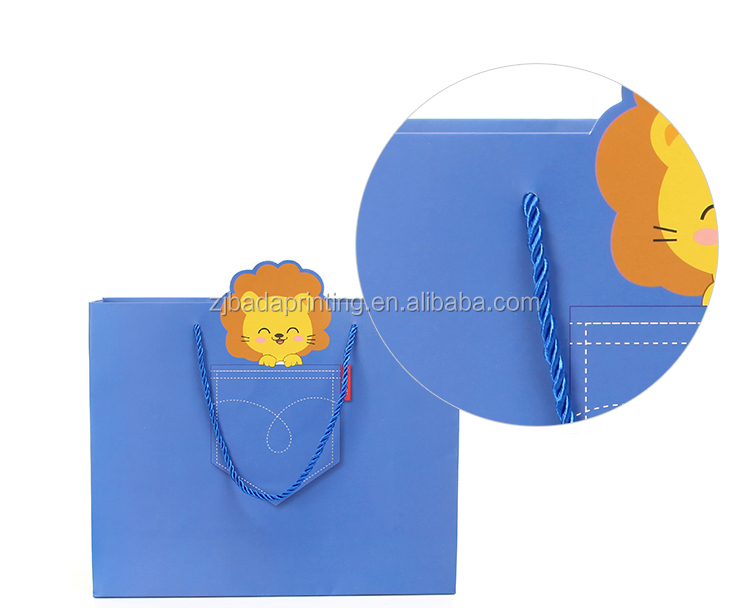 Recyclable Paper Bag For Gift/Custom Printed Paper Shopping Bag