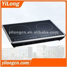 Double burner glass ceramic cooktop(ECC-3400)