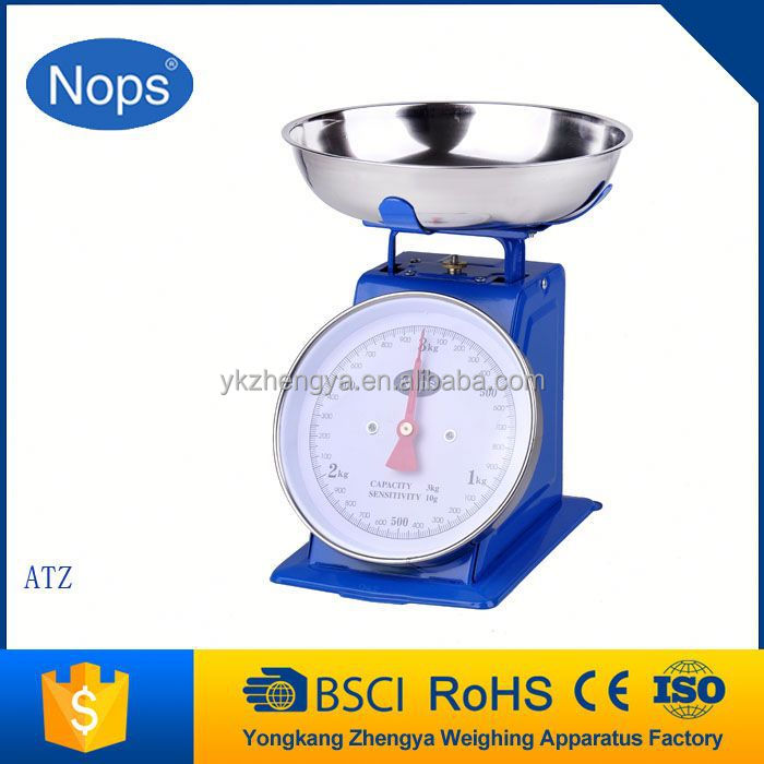 Food Retro 5Kg Scales Spring Weighing Dial Scale