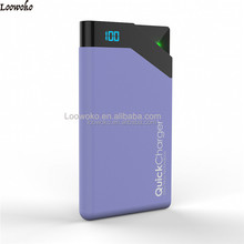 Hot Sale Lcd 8000Mah Dual Usb Charger Power Bank Charger