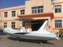 Liya 6.6m hypalon rib boat fiberglass hull boats for sale