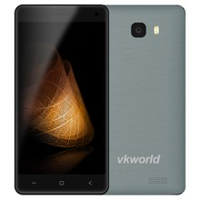Wholesale Dropshipping VKWORLD T5 5inch IPS Screen Quad Core 2GB RAM 16GB ROM 5MP+8MP Android 5.1 3G Big Storage Mobile Phone