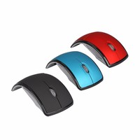 Ultra-thin 2.4 Ghz Foldable Wireless Mouse for PC
