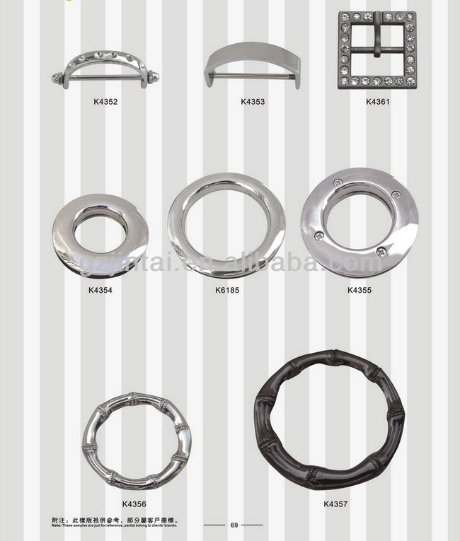 Alibaba China classic O ring/bag accessories o ring/bag decorative 30mm O ring