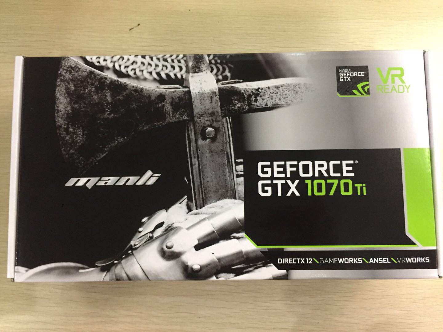 Manli GeFore GTX1070Ti 8GB 256Bit 180W Professional Mining Graphics Card