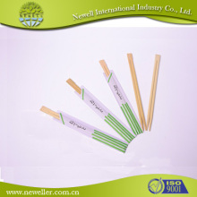Disposable Twin printed arm sleeves fancy chinese style reusable bamboo chopsticks