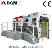 TECHNOCUT Fully Automatic pizza box die cutting machine,pizza box creasing and die cut machine