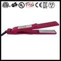 "1 1/4"" Lockable dual voltage 100-240V US EU BS UK AU JAPAN KOREA PLUG pro electric flat iron nano titanium as seen on TV"