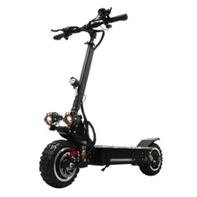 60v 3200W dual motor folding powerful scooter 11inch fat tire off road adult electric scooter with removable seat