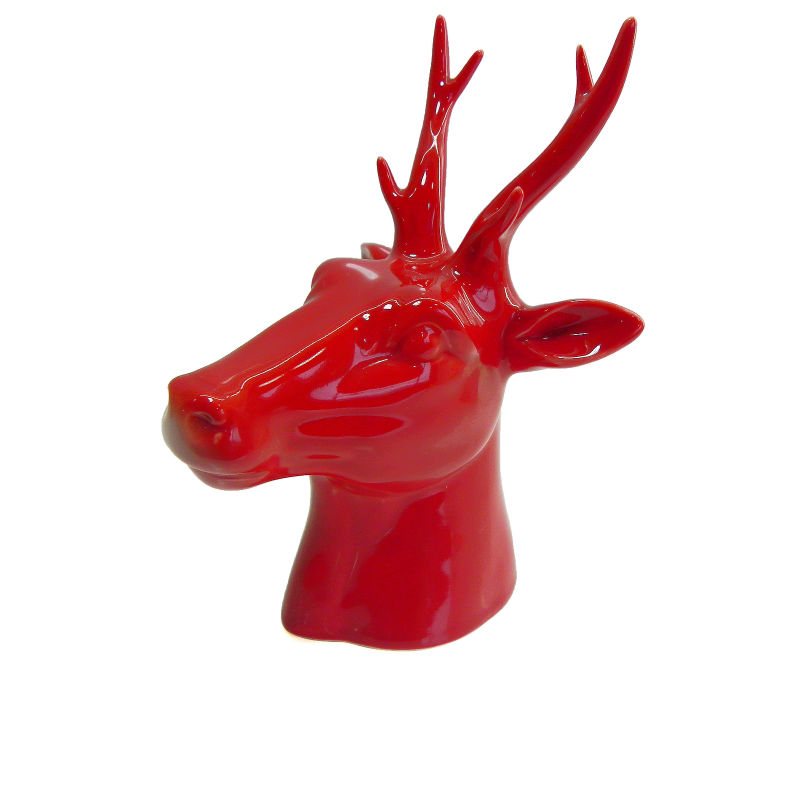 2014 good luck show pieces for home decoration deer head
