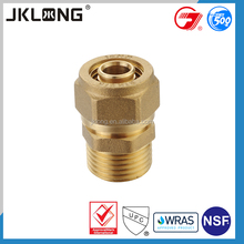 china manufacturer excellent material brass dismantling joint pipe fitting,push fit pipe fittings