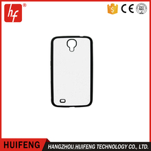 TPU soft 2D Sublimation phone case with White aluminum sheet