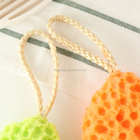Eco-friendly!!! Wholesale bath scrub sponge&bath loofah scrubbers &bath exfoliating scrubber