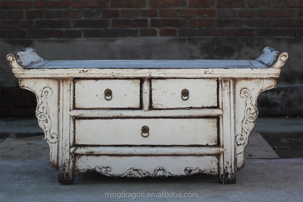 Chinese antique bathroom furniture wood carving cabinet for Oriental wood carved furniture