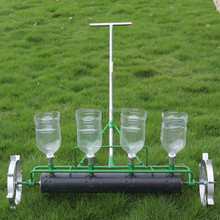 Agricultural tools manual vegetable seeder hand push cabbage planter radish seeder