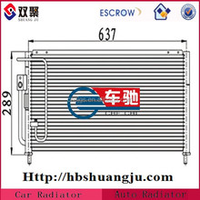 air conditioning condenser assembly