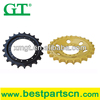 high quality track excavator sprocket, sprocket chain, sprockets and chain