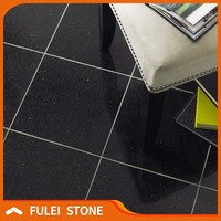 24 x 24 black star galaxy cheap granite flooring tile for sale