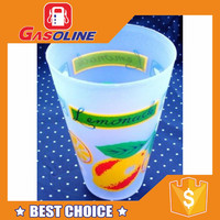 Factory supplied handmade strong plastic cup